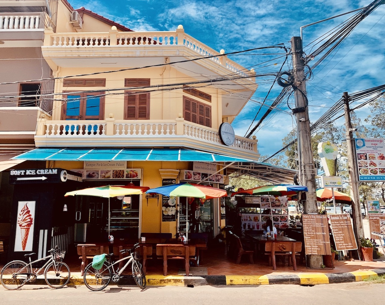 Kampot Pie and Ice Cream Palace Where to Eat and Drink Kampot