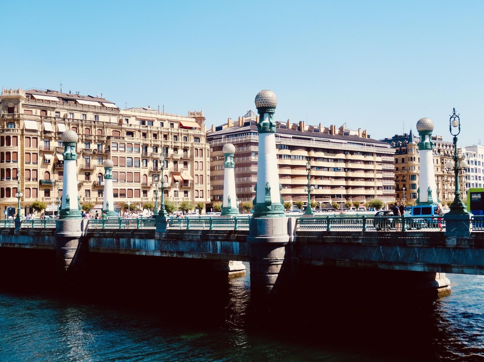 María Cristina Bridge San Sebastian.