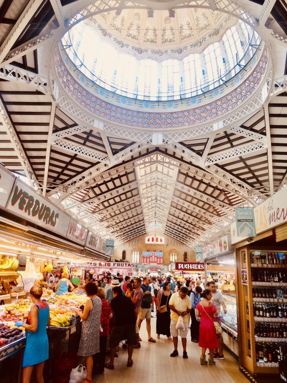 Mercado Central Valencia.