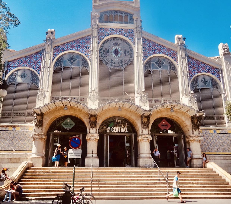 Mercado Central Valencia Spain.