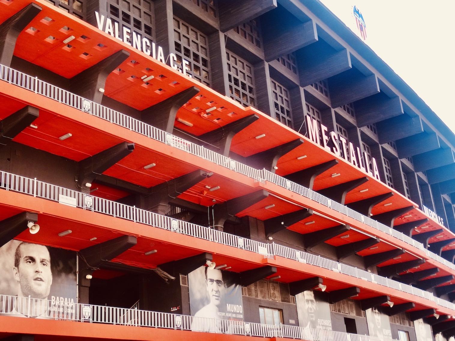 Mestalla Stadium Valencia Football Club.
