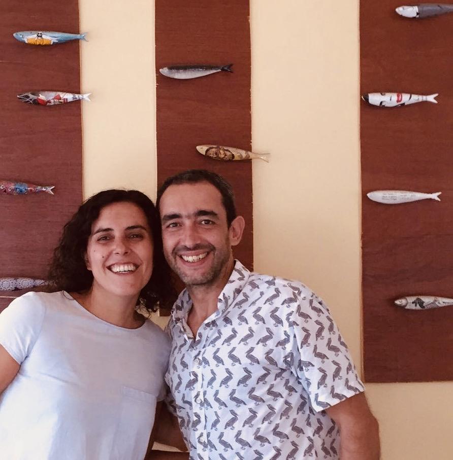 Miguel and Carolina Tertulia Restaurant Kampot