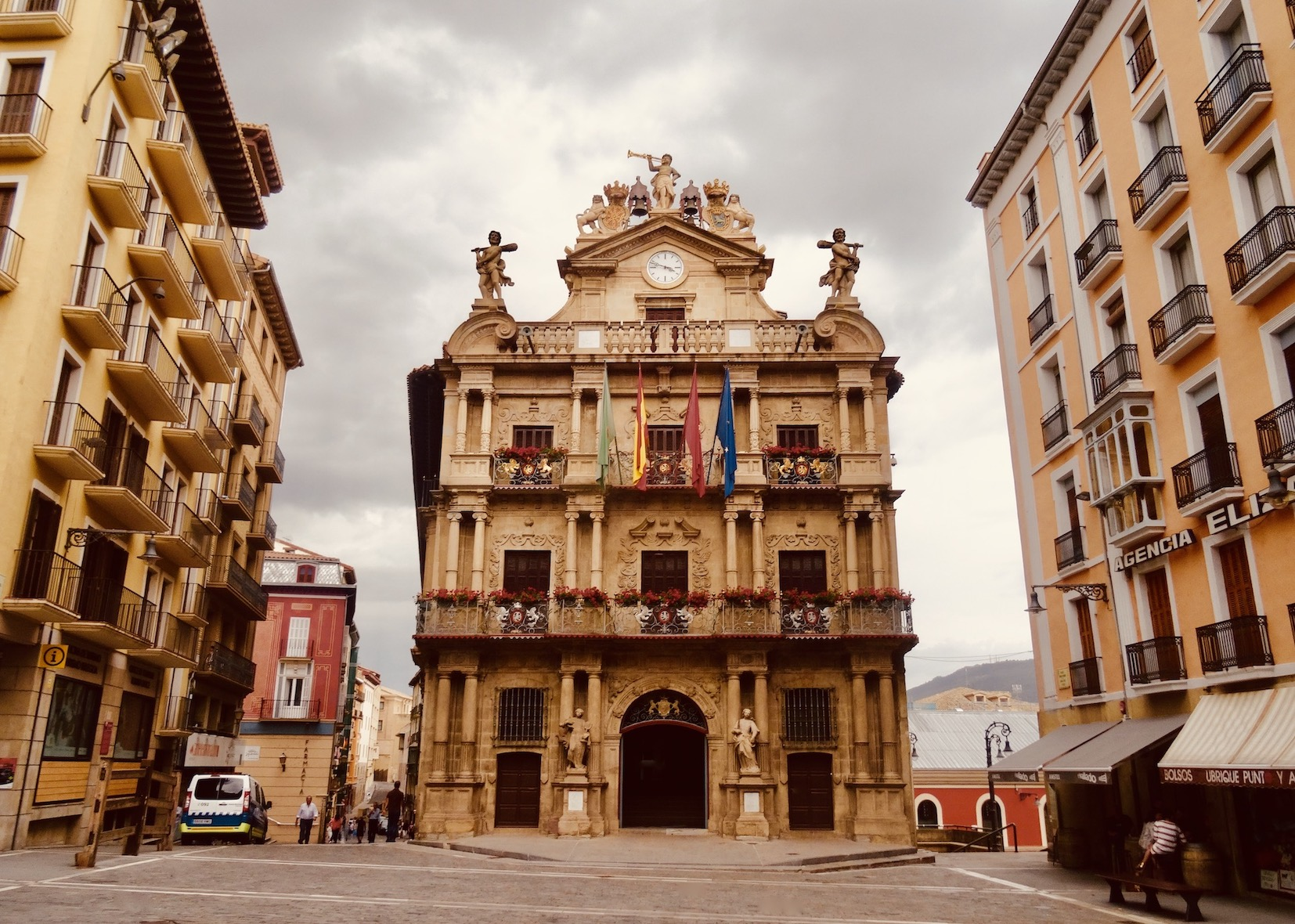 Pamplona Town Hall.