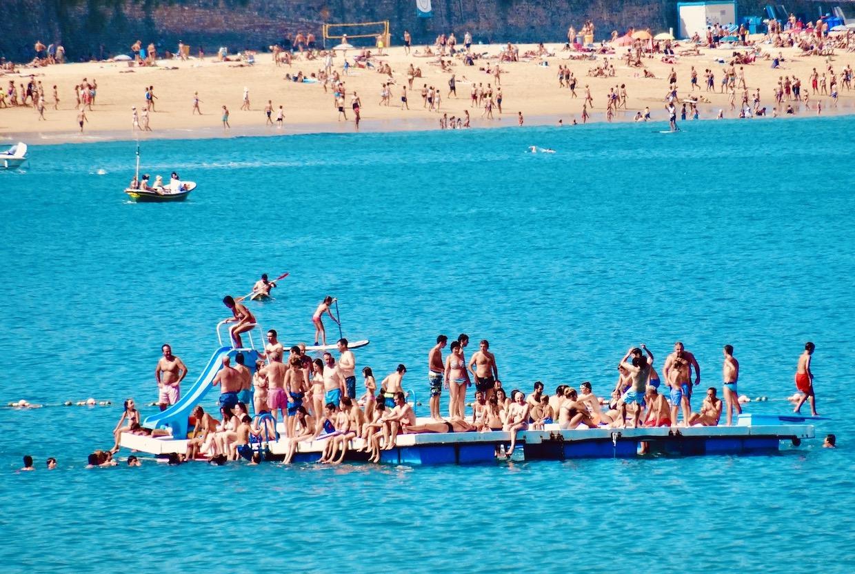 Party boat San Sebastian.