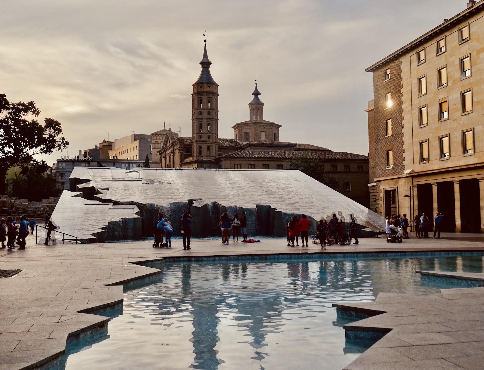 Pilar Square Zaragoza.