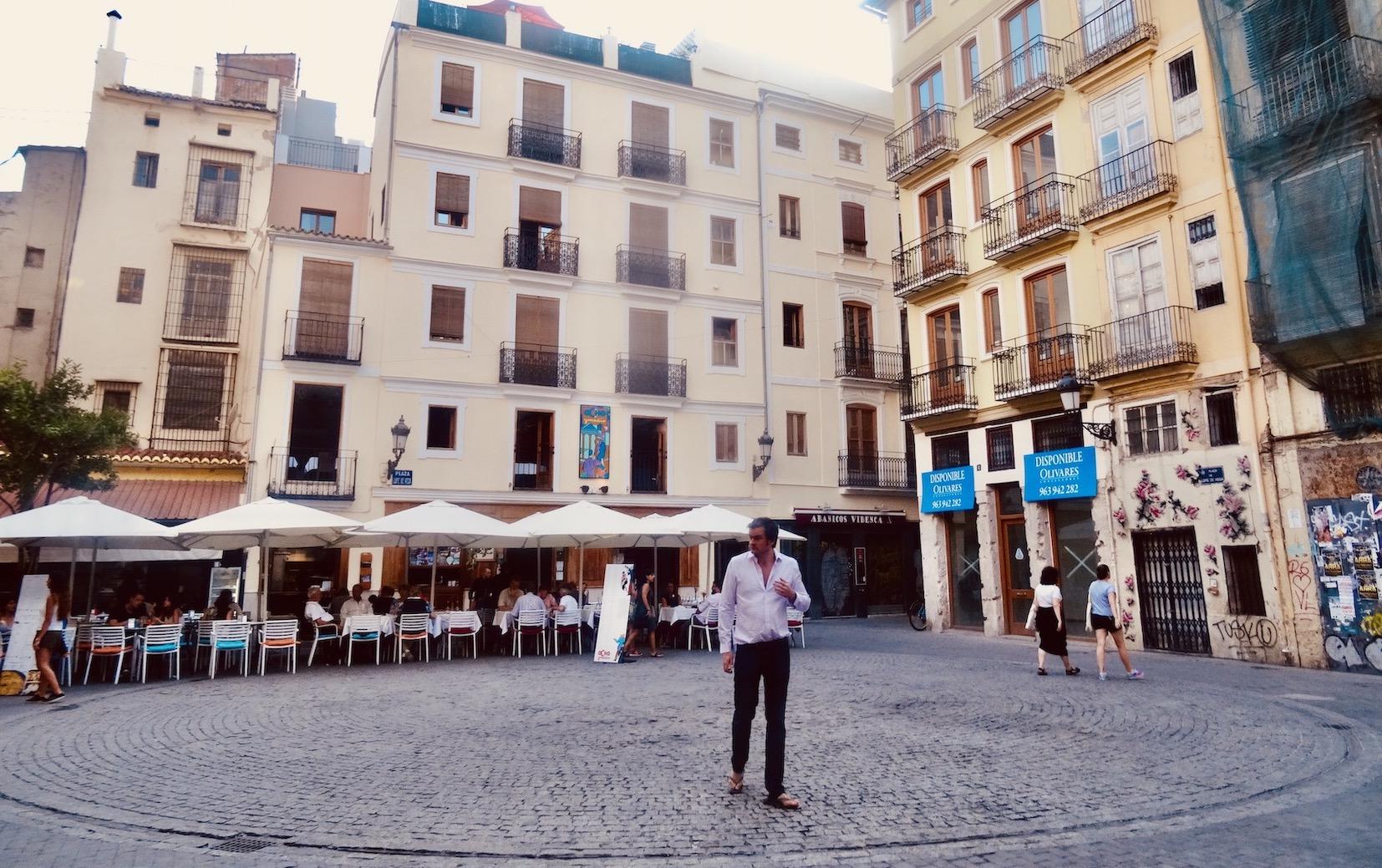 Plaza Lope de Vega Valencia.