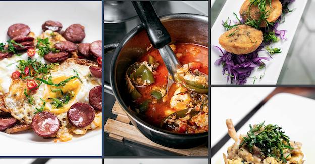 Portuguese flavored dishes Tertulia Restaurant Kampot