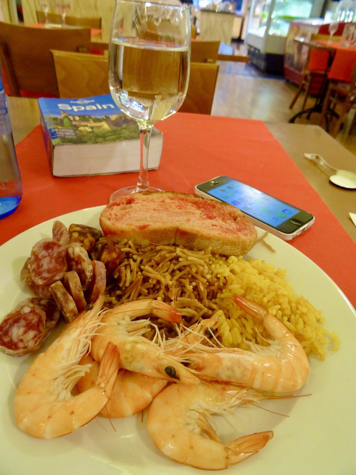 Restaurante Las Palomas Zaragoza.