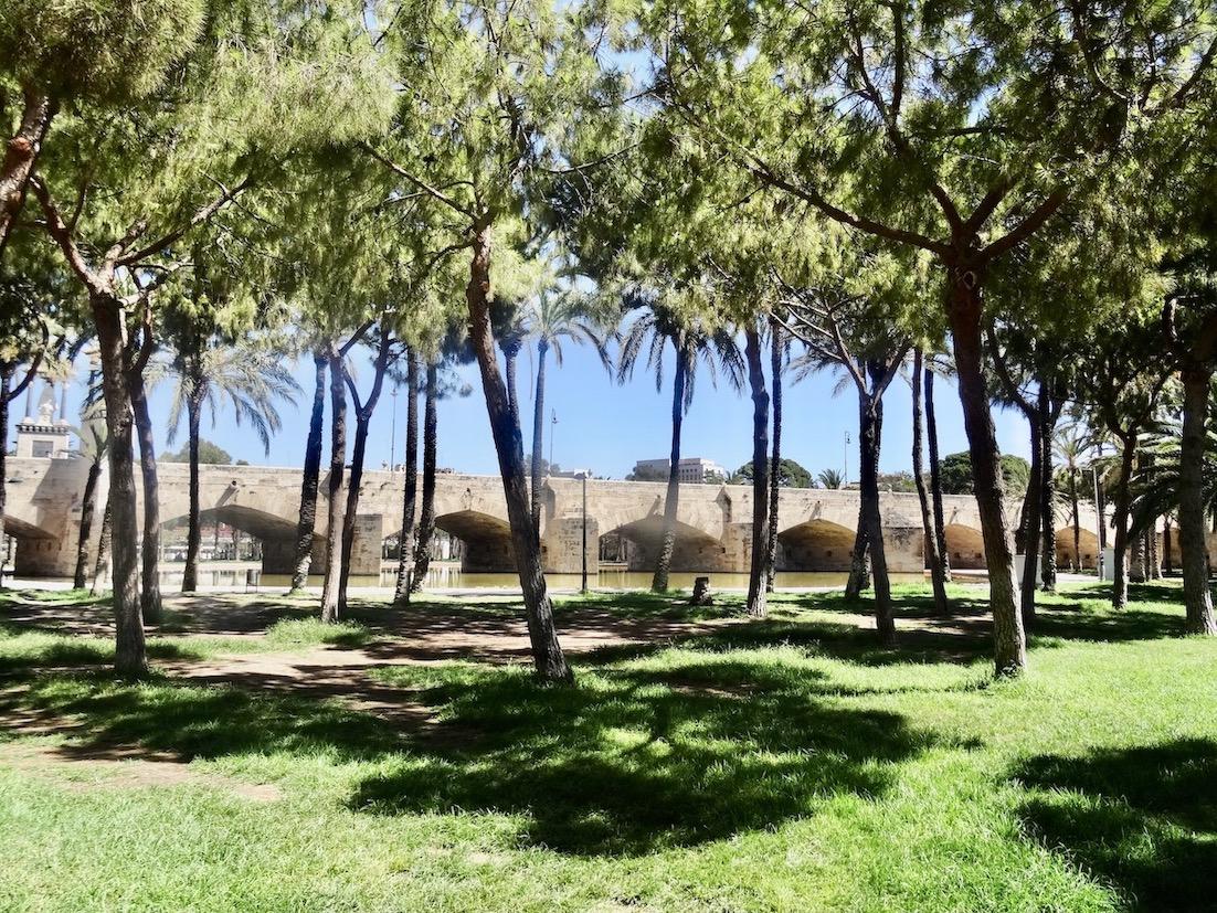 Turia Gardens Valencia.