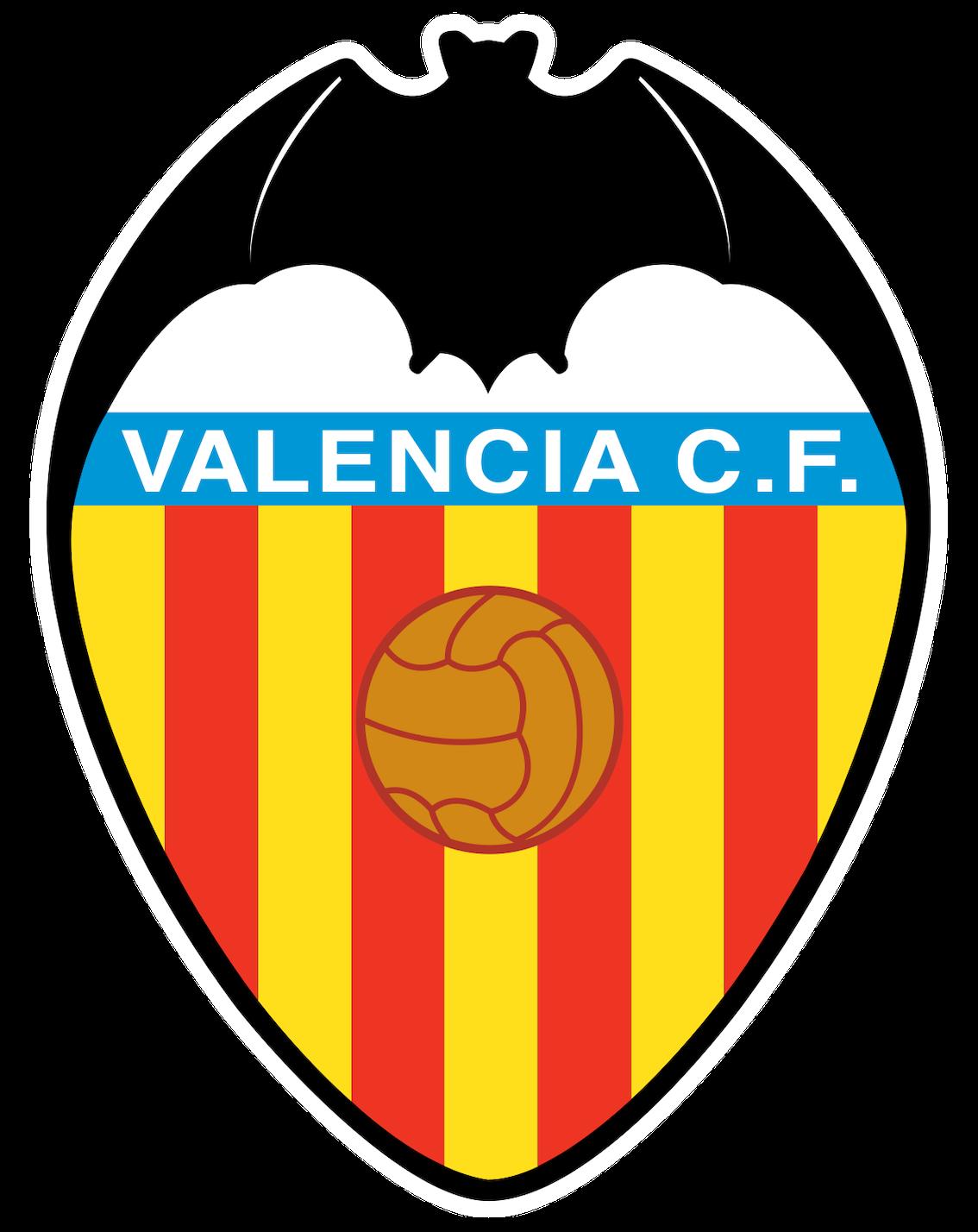 Valencia C.F. Club logo.