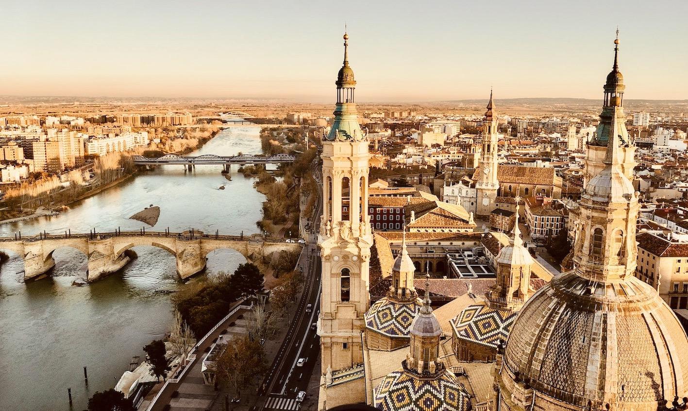 Visit Zaragoza Spain.