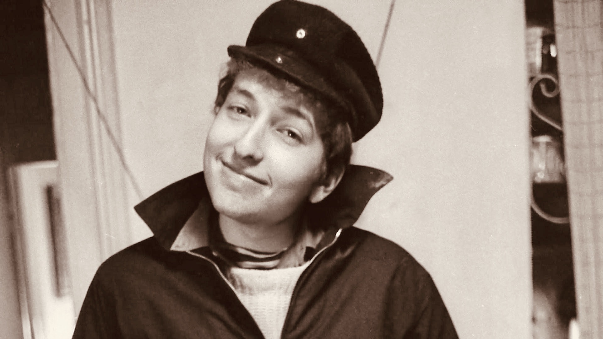 Young Bob Dylan.