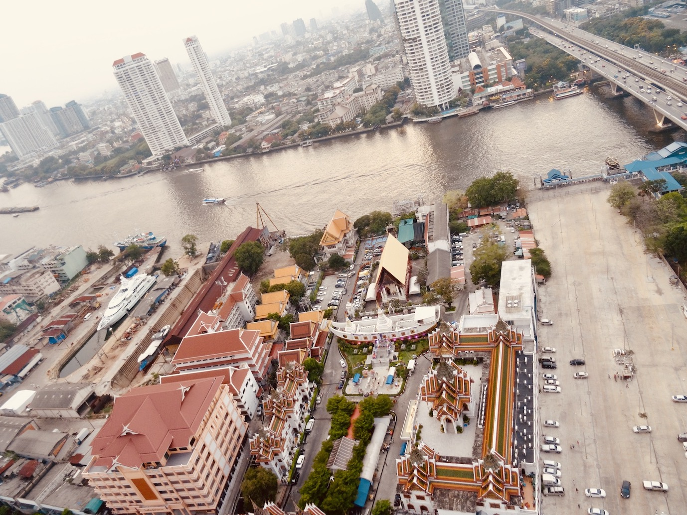Bangkok views from The Ghost Tower