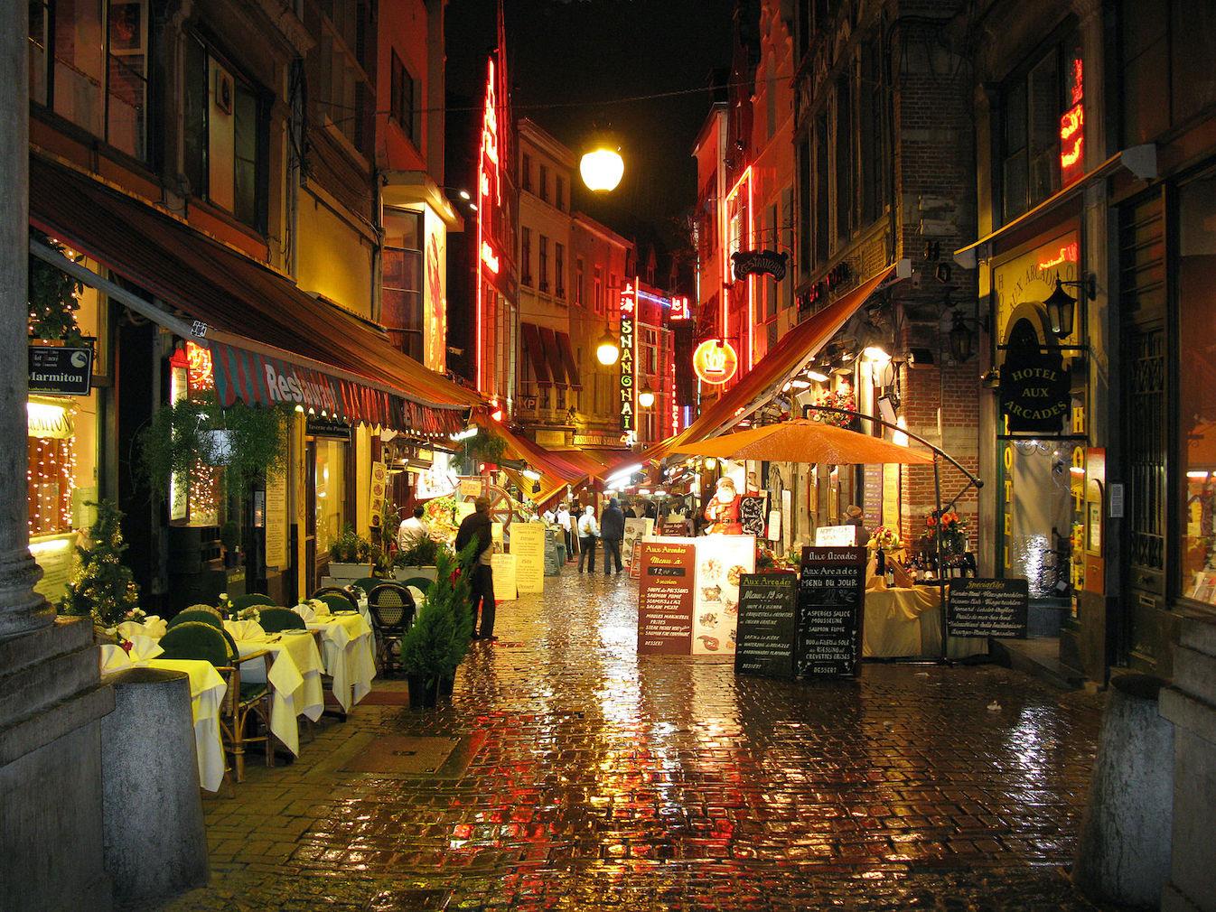 Butcher's Street Brussels.