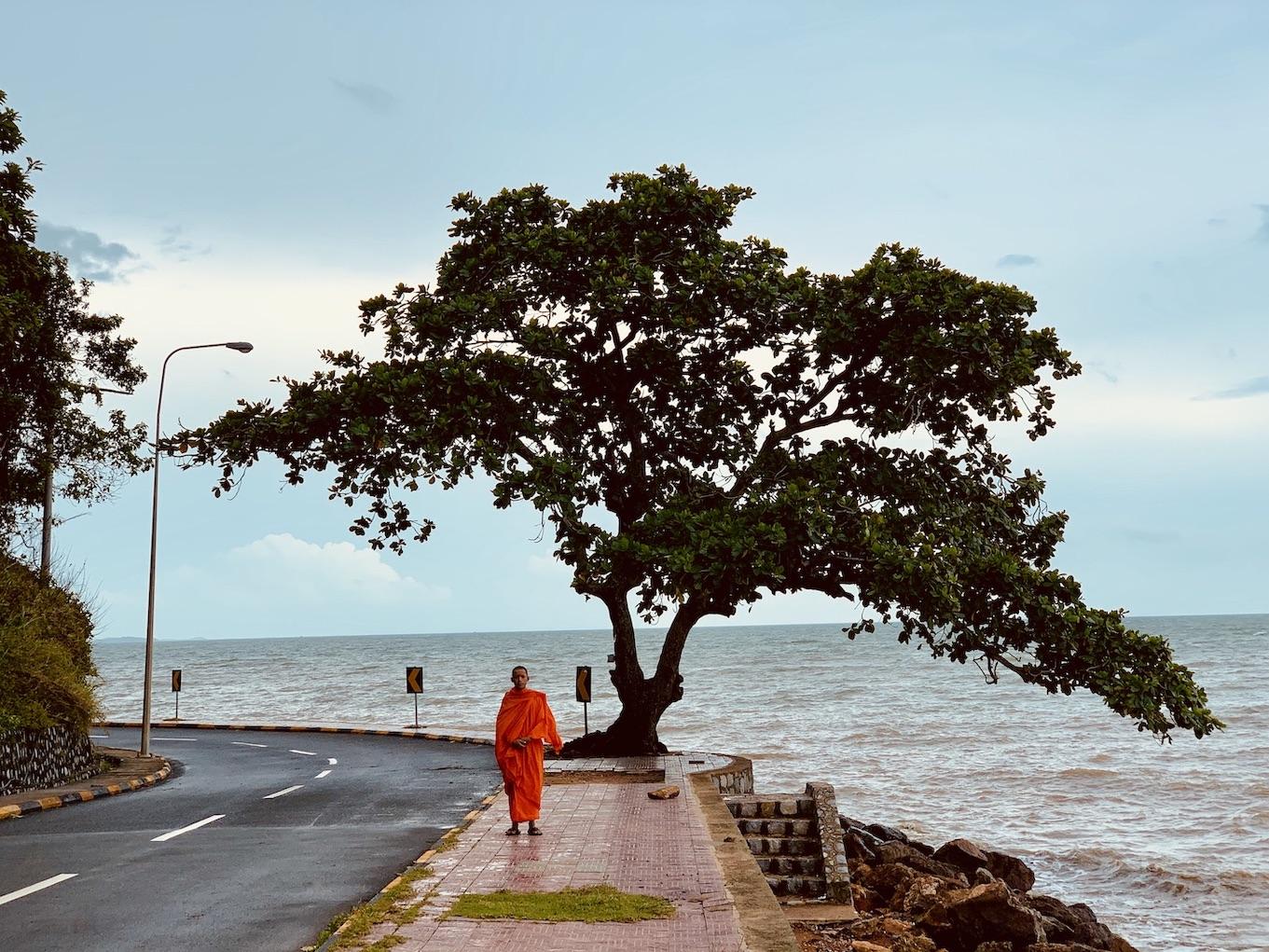 Cambodian monk Kep.