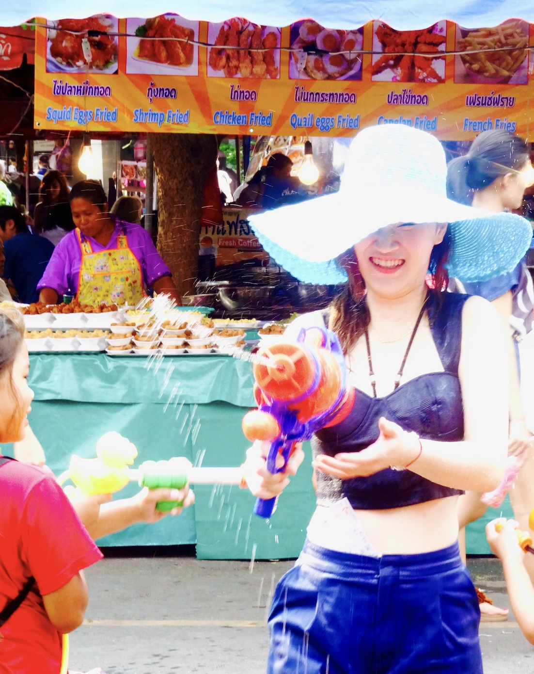 Celebrating Songkran in Bangkok