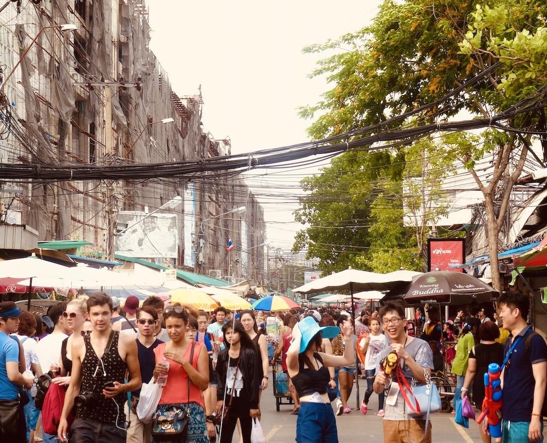 Chatuchak Weekend Market Bangkok.