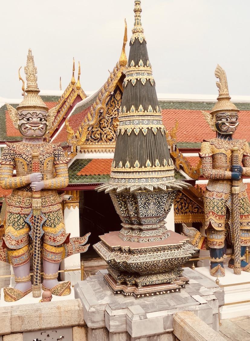 Demon Guardians Grand Palace Bangkok