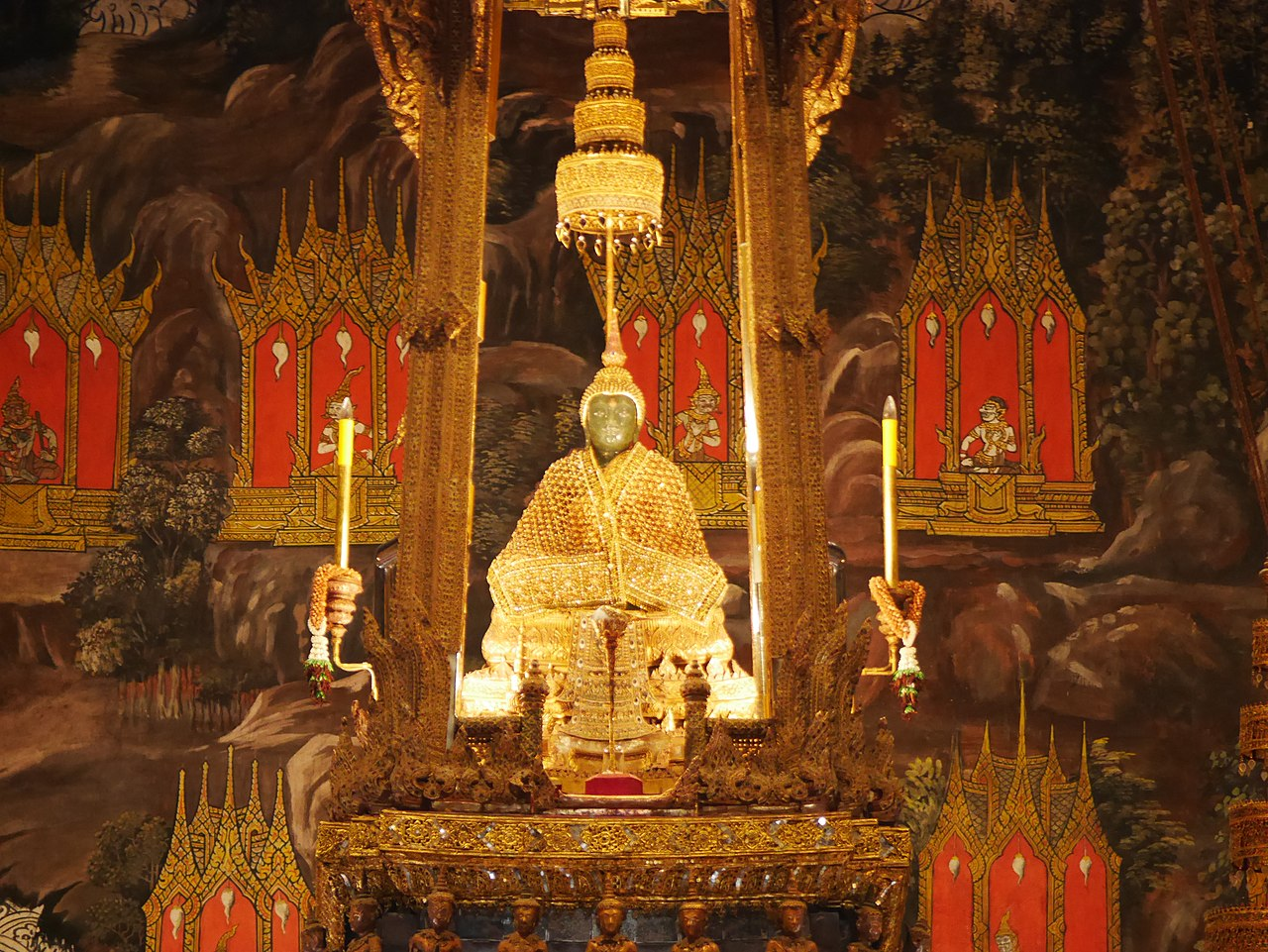 Emerald Buddha Statue in Bangkok