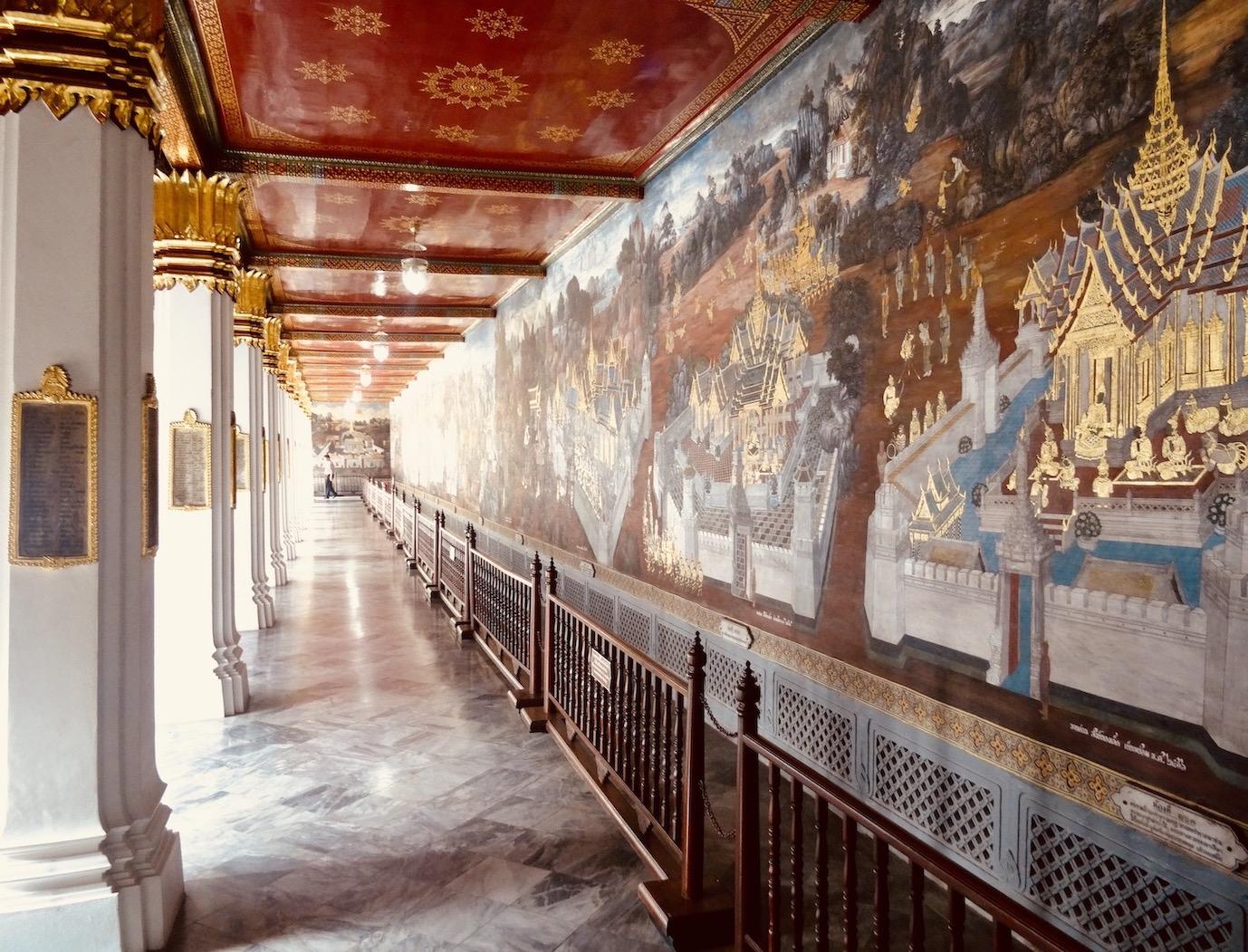 Exploring the Grand Palace in Bangkok
