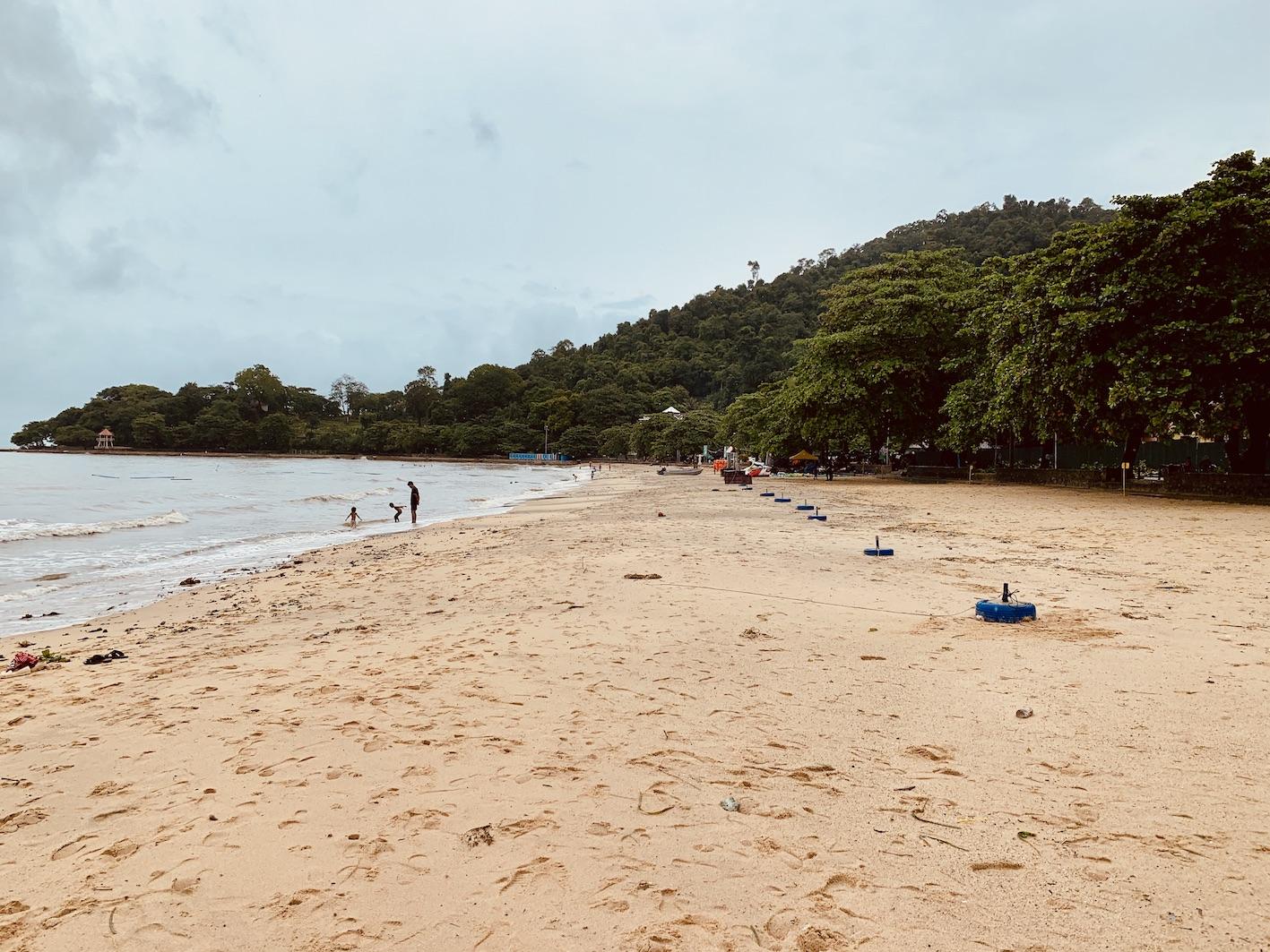 Kep Beach Cambodia.