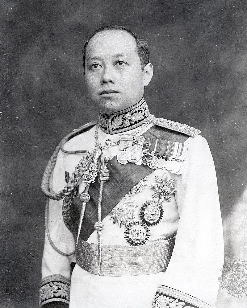 King Rama VI Thailand.