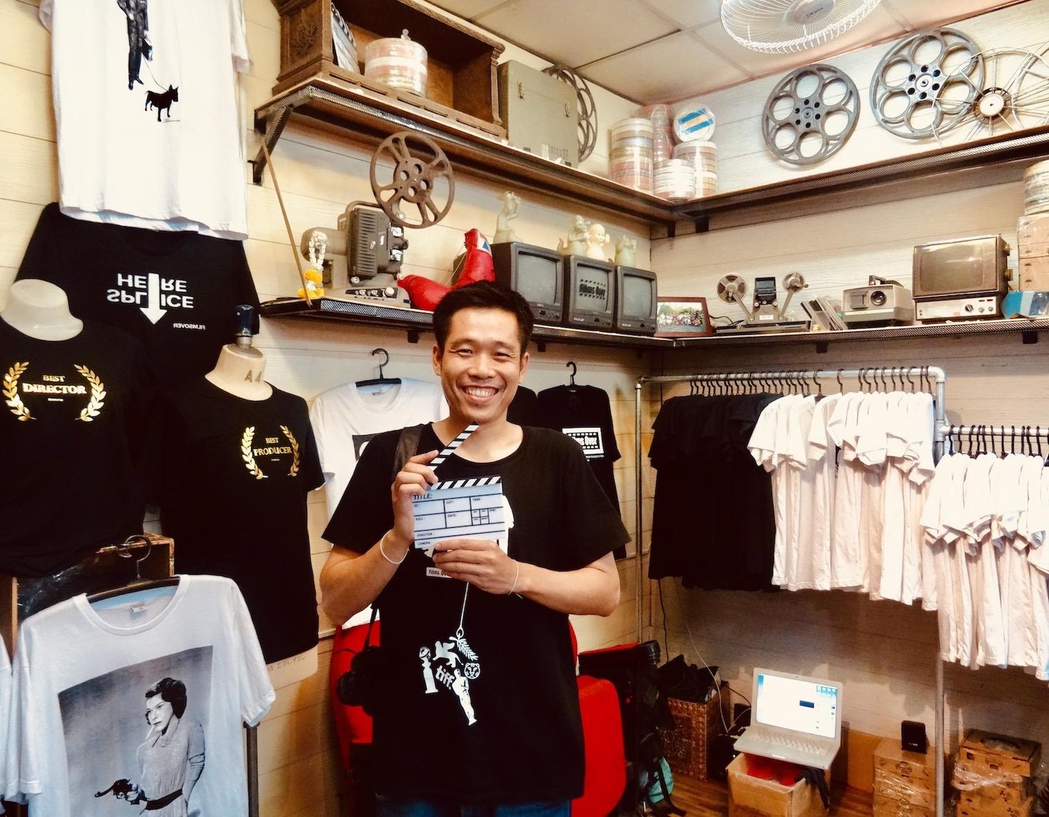Movie T-shirts Chatuchak Weekend Market.