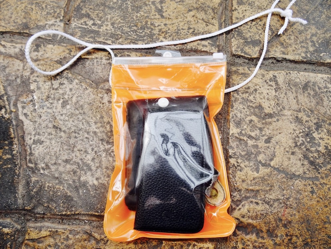 Protecting your phone during Songkran