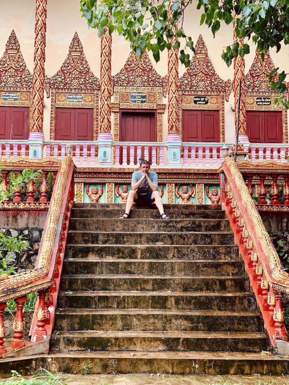 Samot Raingsey Pagoda Kep Cambodia