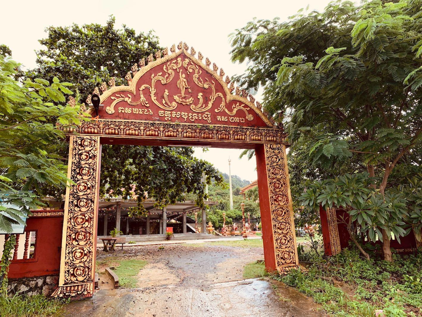 Samot Raingsey Pagoda Kep.