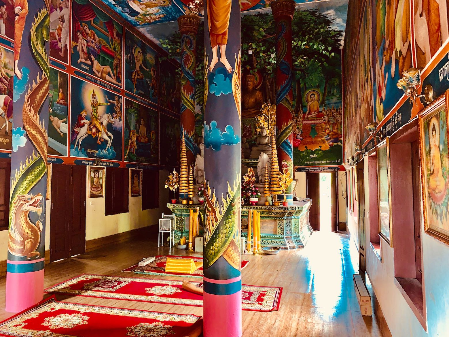 Samot Raingsey Pagoda in Kep.