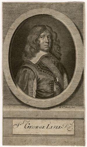 Sir George Lisle Royalist leader English Civil War