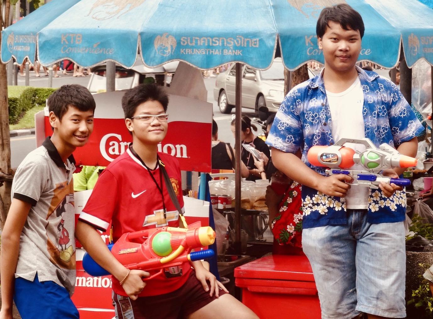 Songkran Water Festival Bangkok