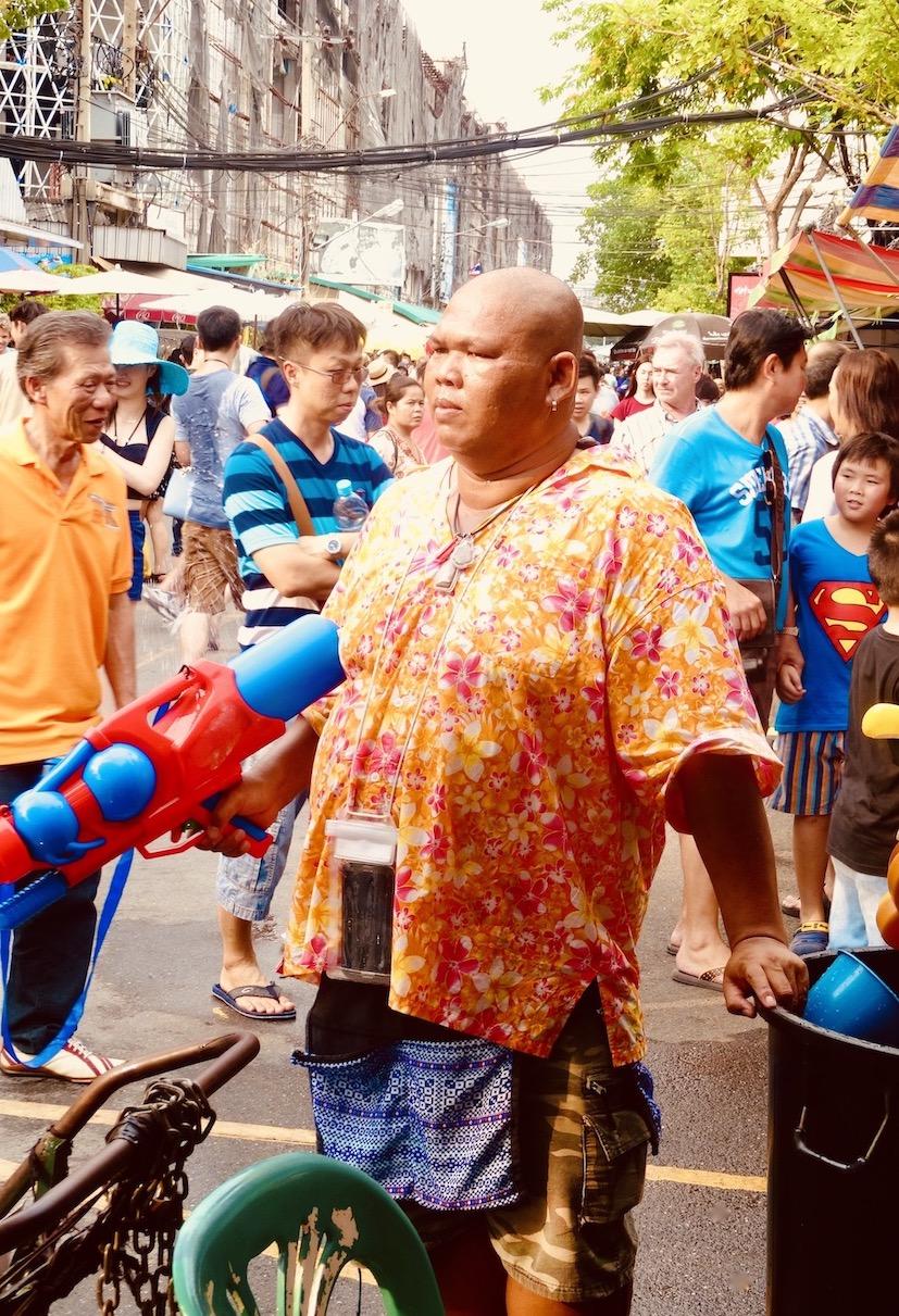 Songkran Water Festival Bangkok.