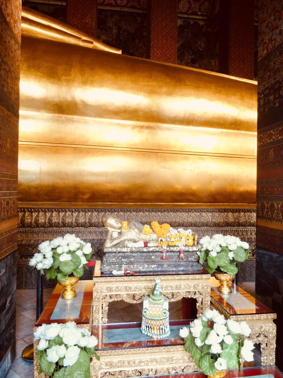 Temple of Reclining Buddha Bangkok