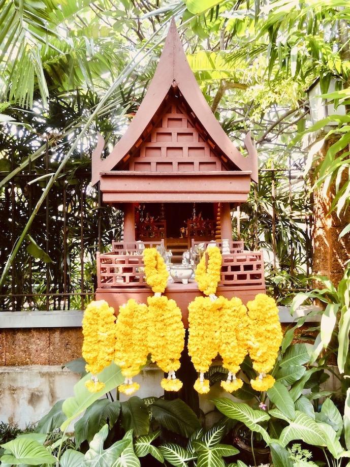 Thai spirit house Bangkok.