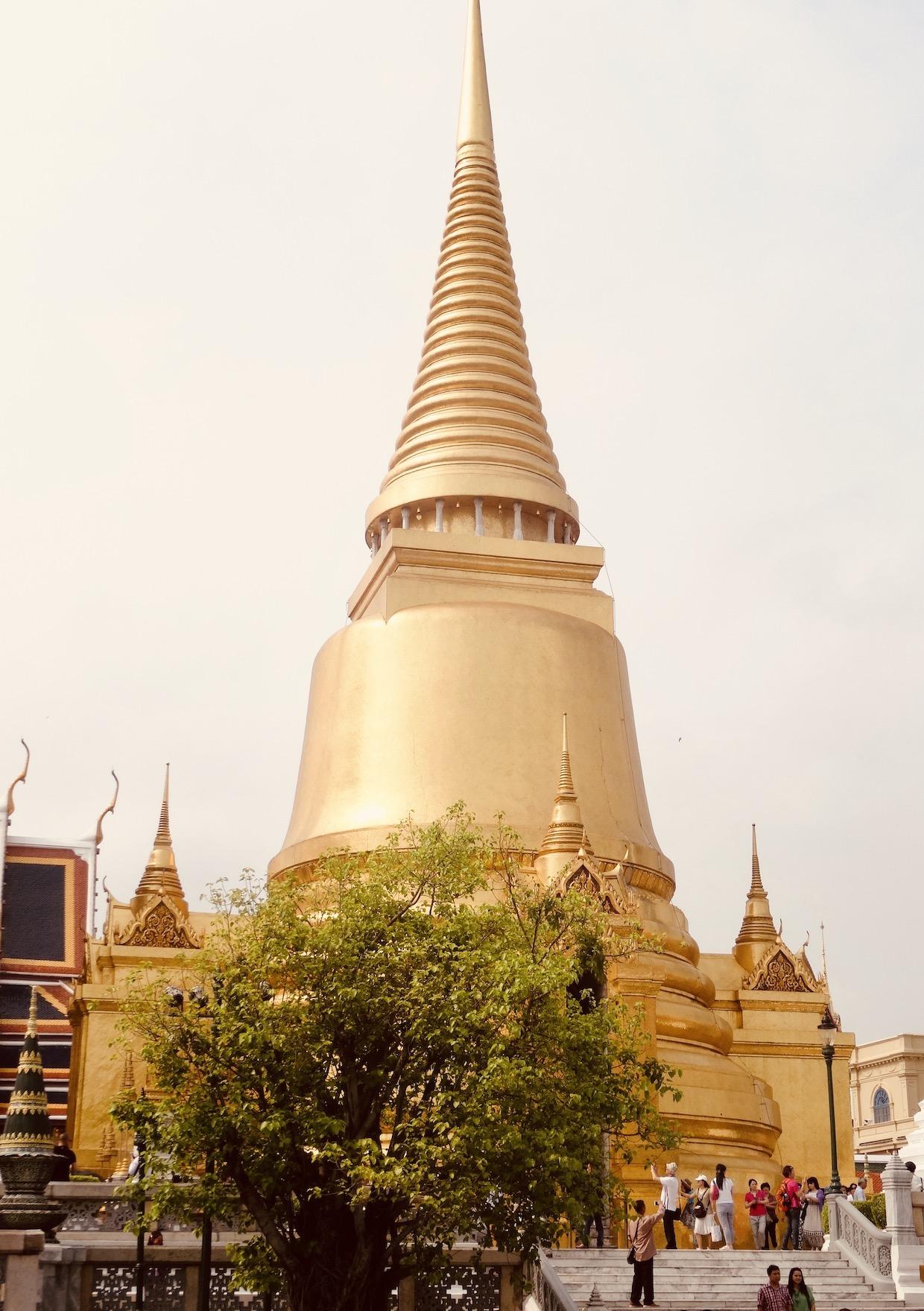 The Golden Stupa Bangkok.