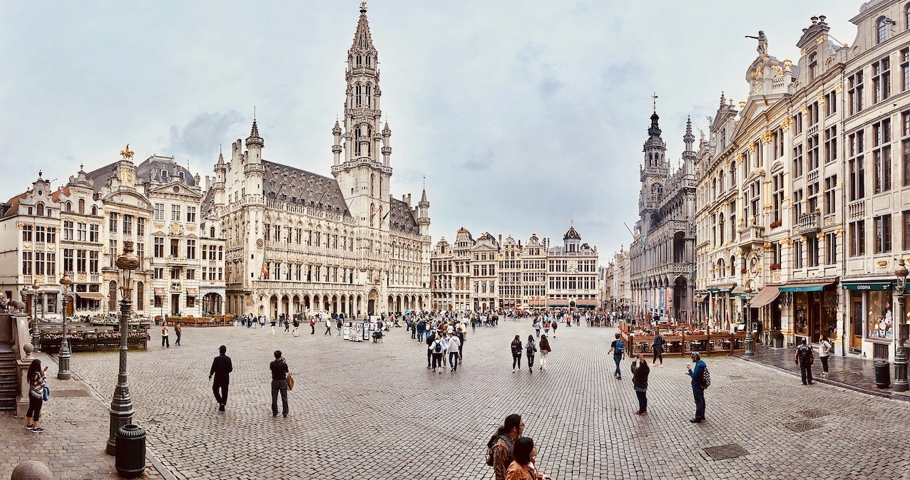 The Grand Place in Brussels.