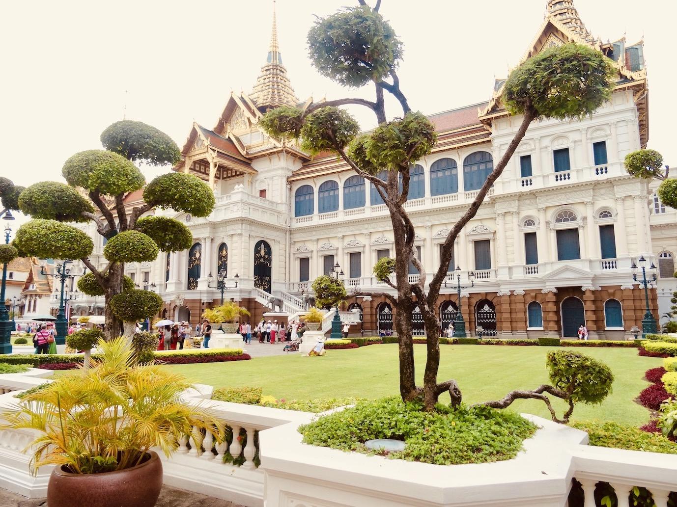 Throne Hall The Grand Palace Bangkok