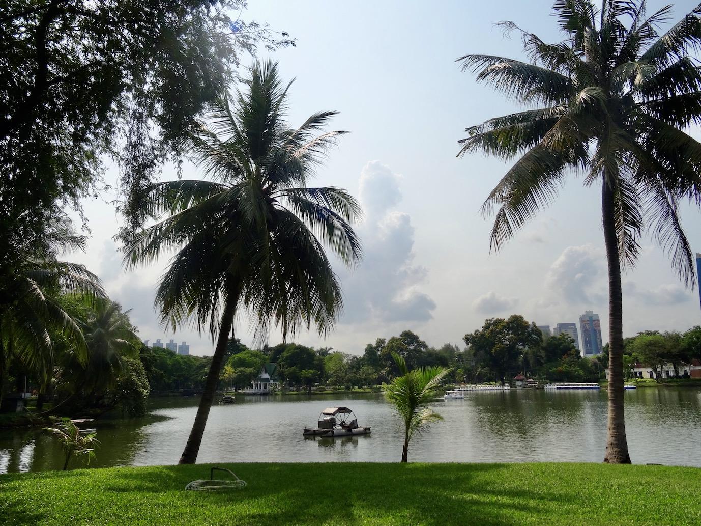 Visit Lumphini Park Bangkok.