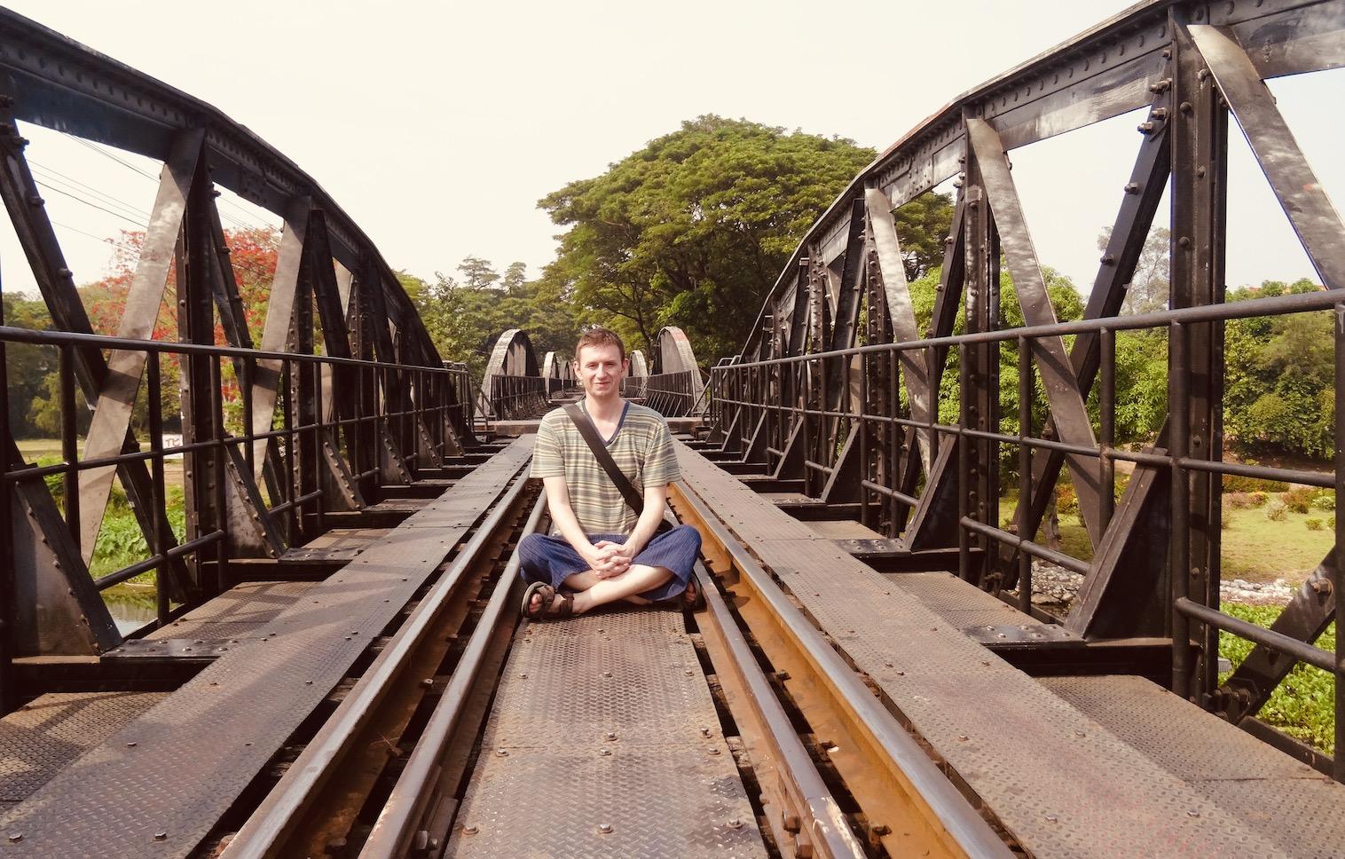 Visit Thailand Death Railway Bridge Kanchanaburi