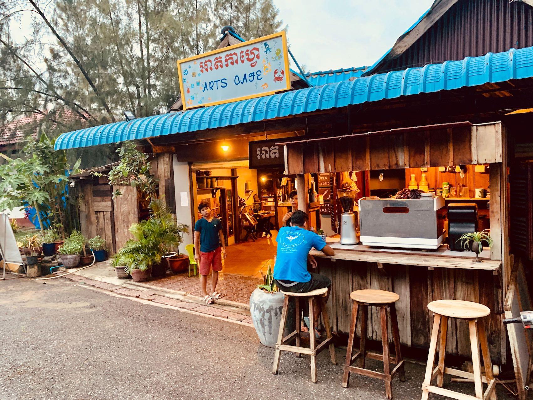 Arts Cafe Kep.