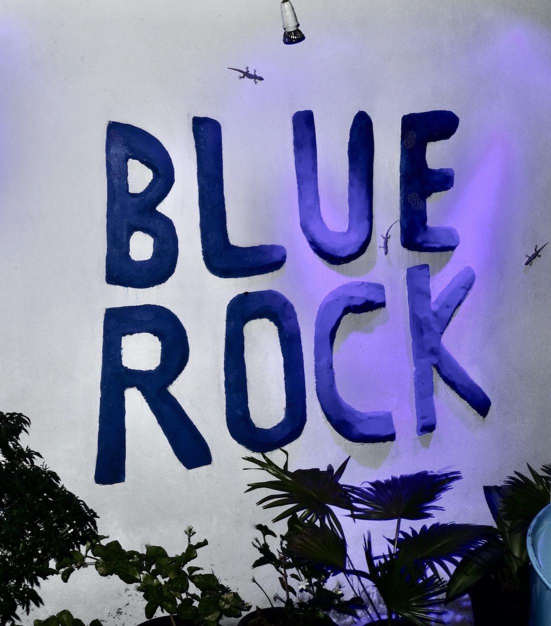 Blue Rock Bar.
