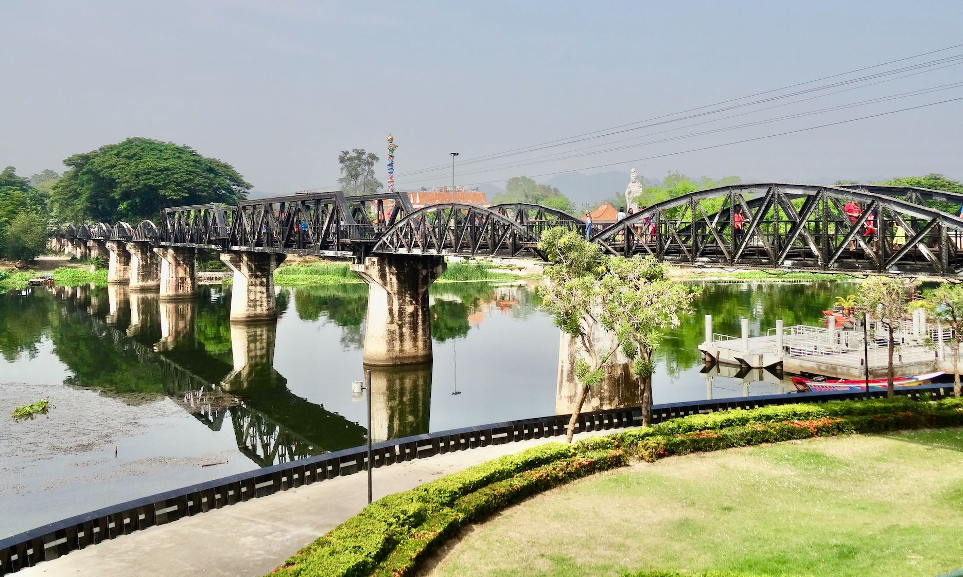 Bridge on the River Kwai Kanchanaburi Thailand