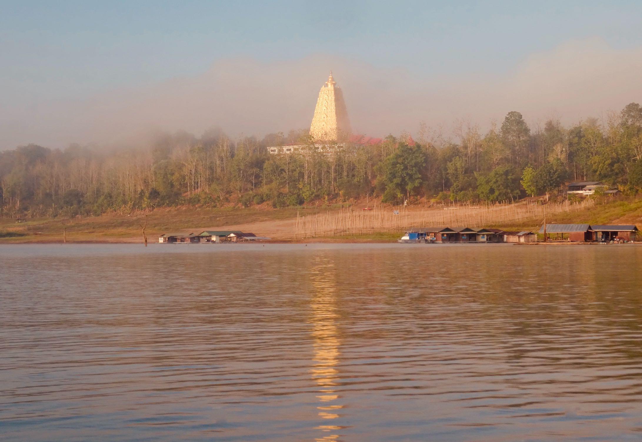 Buddhakaya Chedi Sangkhlaburi.