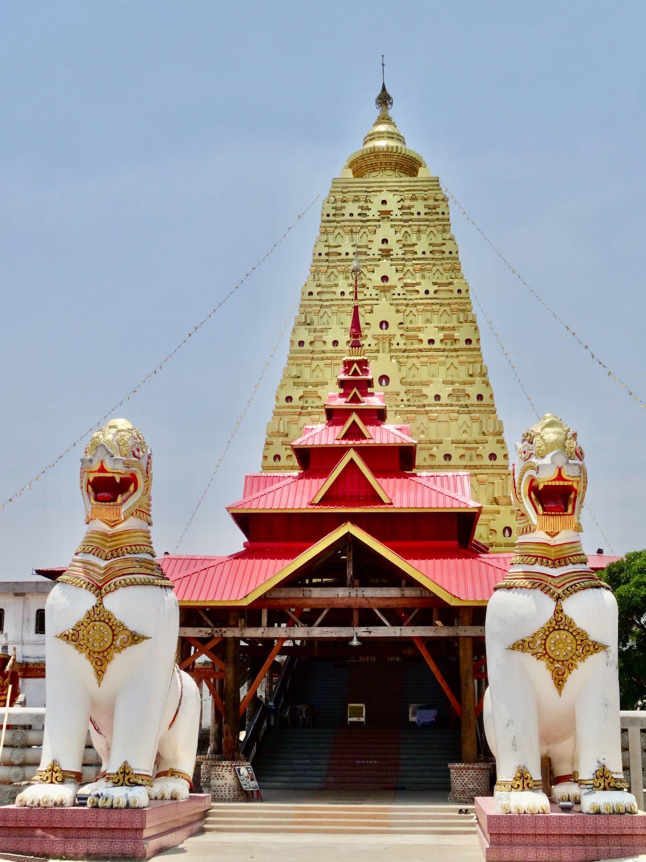 Buddhakaya Chedi.