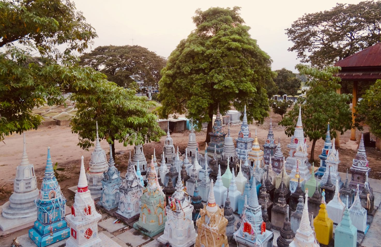 Chinese temple Kanchanaburi Thailand