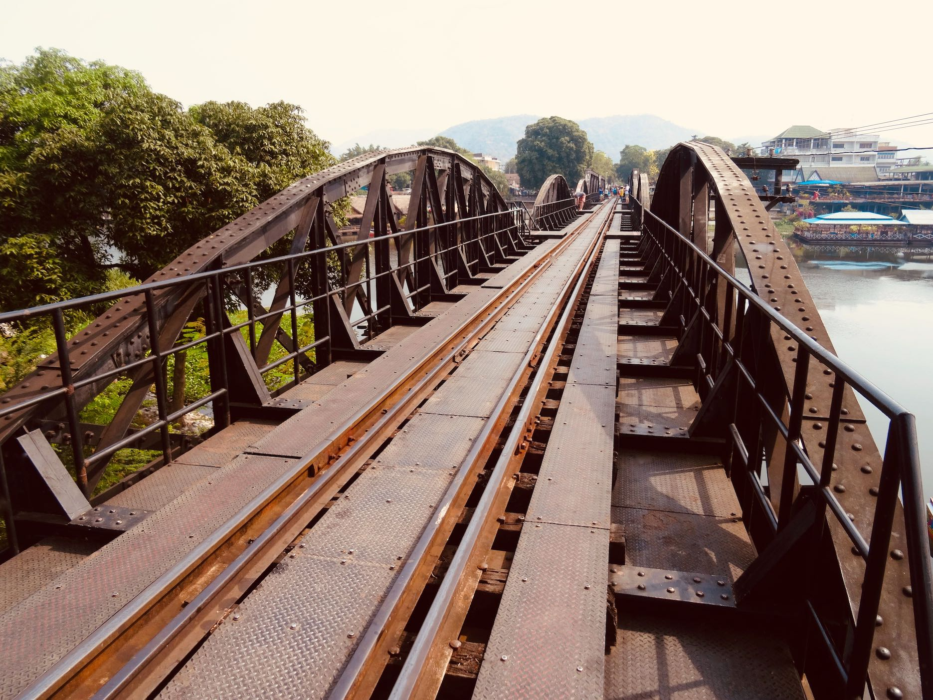 Death Railway Bridge in Kanchanaburi