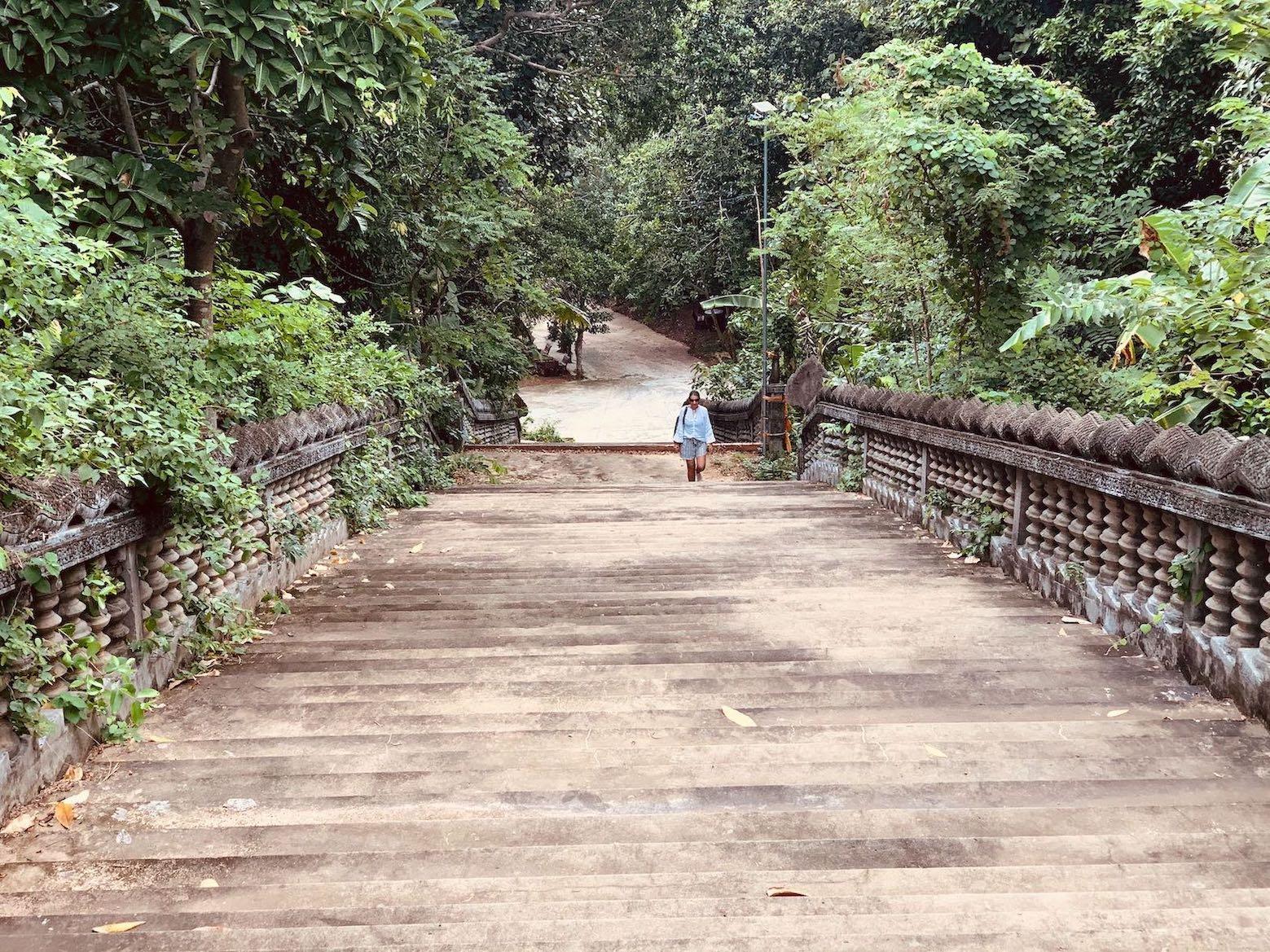 Exploring Samathi Pagoda in Kep
