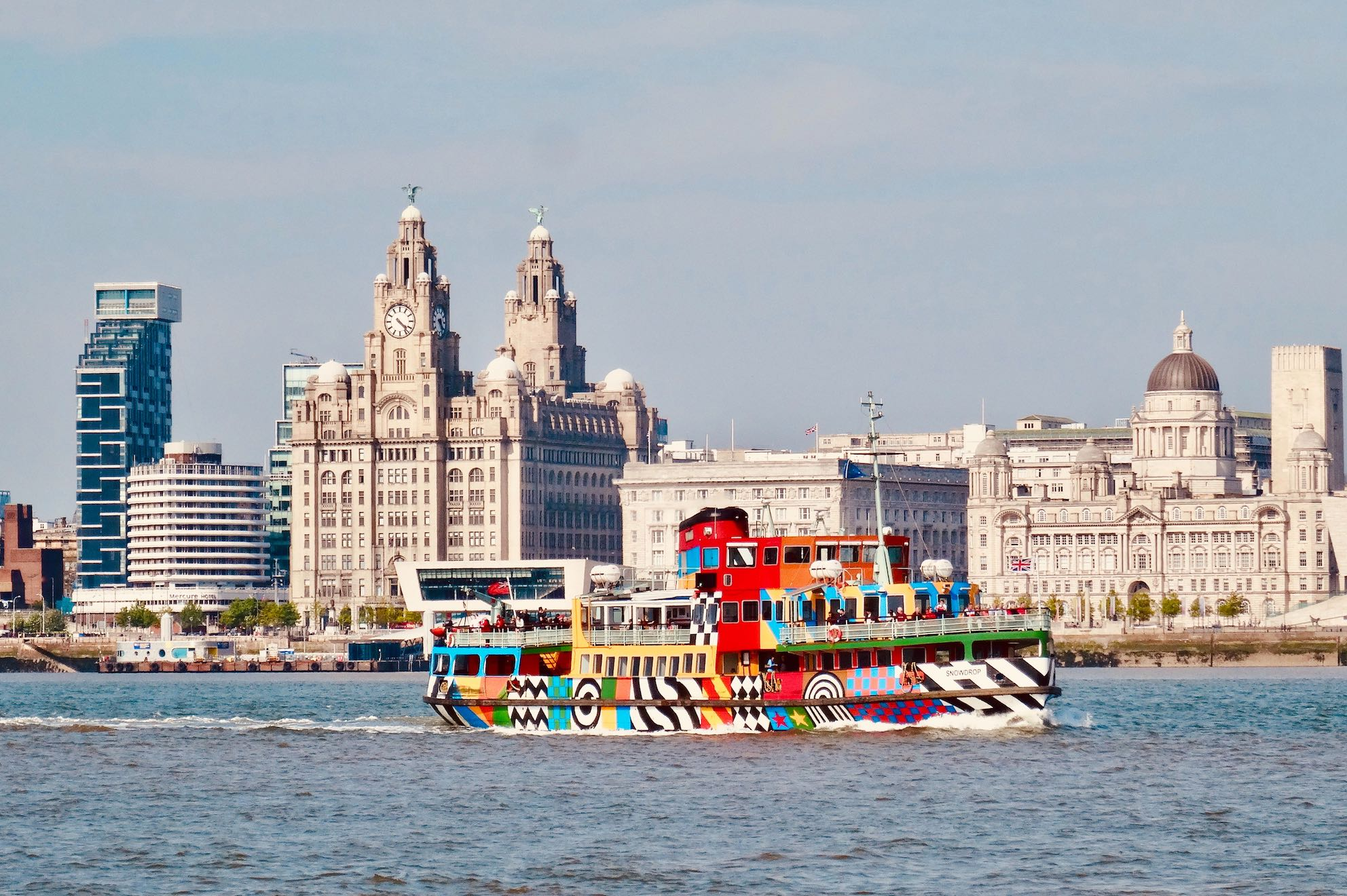 Ferry Cross The Mersey River Cruise Liverpool
